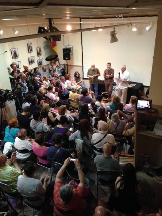 Reseña y videos del acto de JC Monedero en Ágora (3/6)